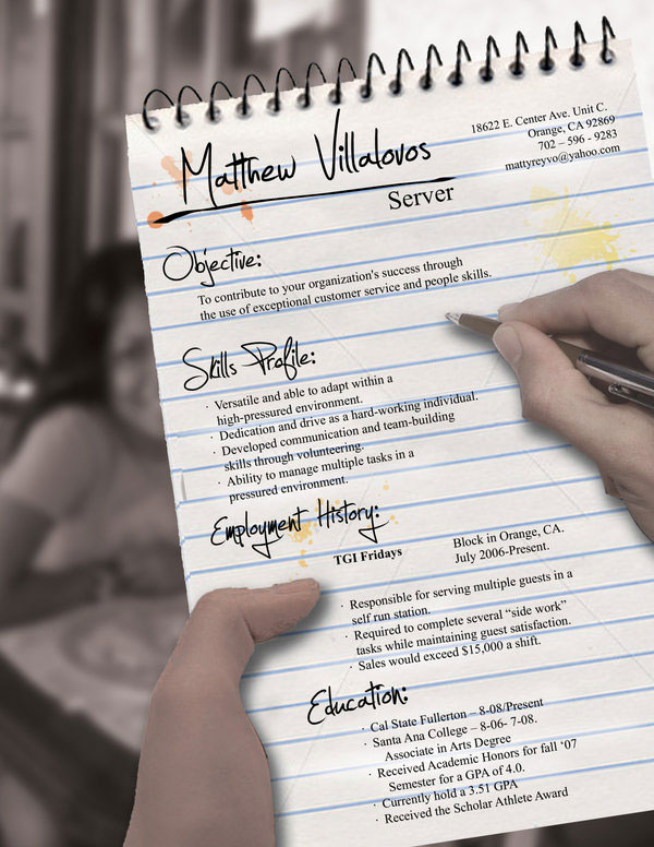 Server_Resume_by_rkaponm