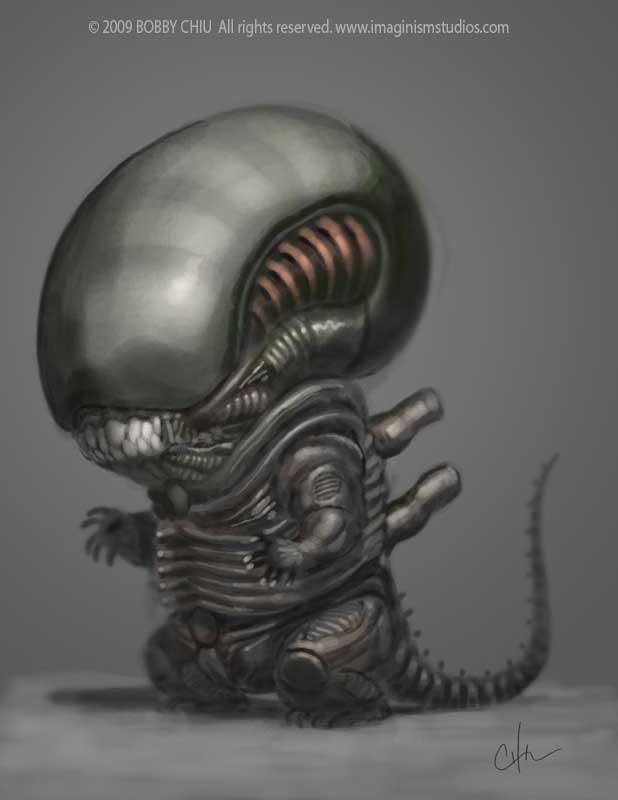 baby-alien-painting-bobby-chiu