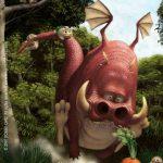 carrot-run-painting-dragon-bobby-chiu
